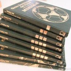 Coleccionismo deportivo: GRAN ENCICLOPEDIA DEL FUTBOL MUNDIAL 82 (TOMOS 1,2,3,4,5,6,12,14) EDICIÓN CONMEMORATIVA. Lote 58265261