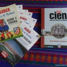 Coleccionismo deportivo: CIEN AÑOS DEL ATLÉTICO DE MADRID TOMO 1. AS. GENIO Y FIGURA UN GRANDE EN LA HISTORIA. MARCA.. Lote 58296314