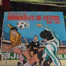 Coleccionismo deportivo: HISTORIA DE LOS MUNDIALES DE FUTBOL 1930-1982. Lote 58641368