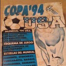 Coleccionismo deportivo: ANALISIS DEL MUNDIAL USA 94. Lote 60140163