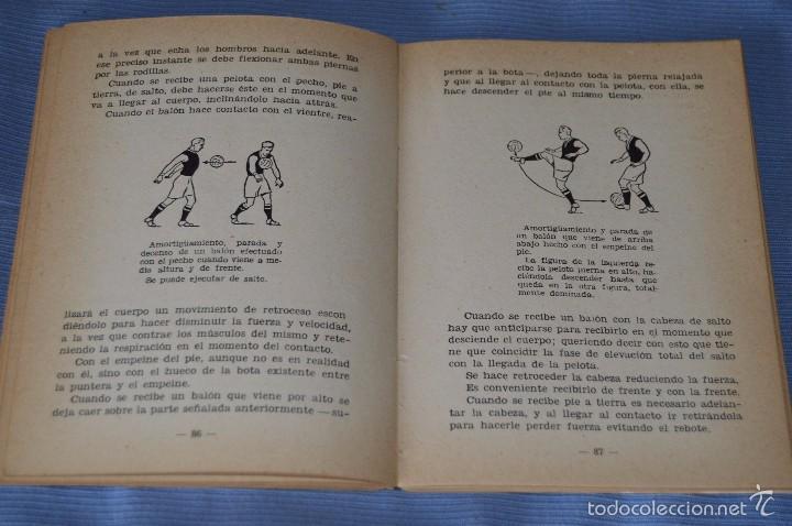 Coleccionismo deportivo: ESCUELA de FÚTBOL MODERNO - Año 1958 - Autor MANUEL FRESCO MAROTO - Foto 4 - 60323899