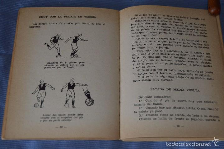 Coleccionismo deportivo: ESCUELA de FÚTBOL MODERNO - Año 1958 - Autor MANUEL FRESCO MAROTO - Foto 5 - 60323899
