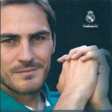 Coleccionismo deportivo: REAL MADRID: LIBRO IKER CASILLAS. LA HUMILDAD DEL CAMPEÓN. Lote 60699623