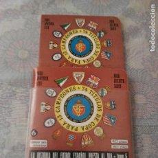 Coleccionismo deportivo: ANUARIO DINÁMICO N°6 1976 1977 CON SU FUNDA ORIGINAL SIN ESTRENAR 2 TOMOS . Lote 61429299
