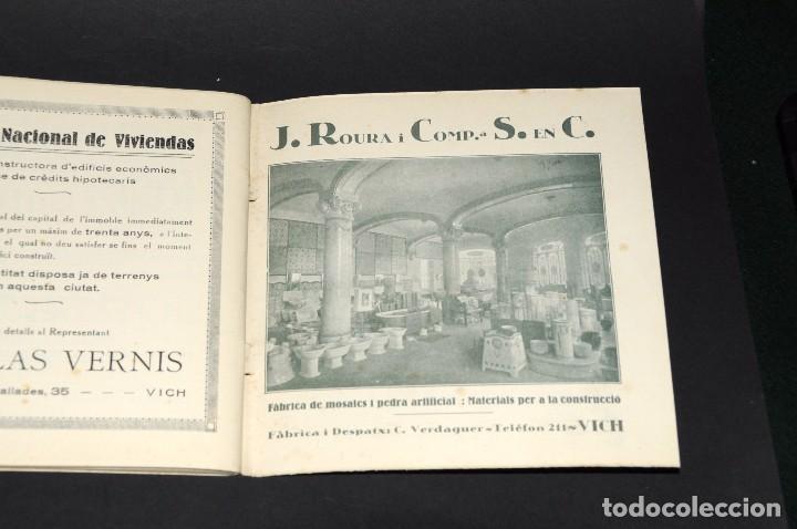 Coleccionismo deportivo: VICH C.F. Festes de Sant Miquel 1924. Programa ORIGINAL. 76 páginas - Foto 5 - 61448043