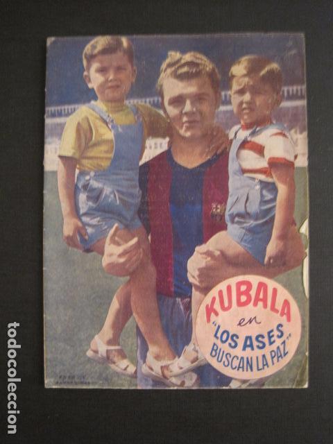 KUBALA - LOS ASES BUSCAN LA PAZ - VER FOTOS ADICIONALES - (V-6554) (Coleccionismo Deportivo - Libros de Fútbol)