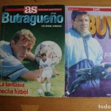 Coleccionismo deportivo: LOTE 2 LIBROS BUTRAGUEÑO Y BUYO. Lote 61939952