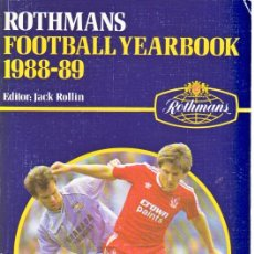 Coleccionismo deportivo: FÚTBOL. ROTHMANS FOOTBALL YEARBOOK 1988-89 . Lote 40319295