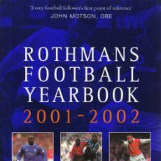 Coleccionismo deportivo: FÚTBOL. ROTHMANS FOOTBALL YEARBOOK 2001/02 . Lote 40319580