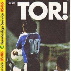 Coleccionismo deportivo: FÚTBOL. BP TOR! BUNDESLIGA SERVICE 85/86 . Lote 40337150