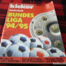Coleccionismo deportivo: FÚTBOL. KICKER BUNDESLIGA 94/95 . Lote 40337623