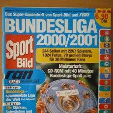 FÚTBOL. SPORT BILD BUNDESLIGA 2000/2001