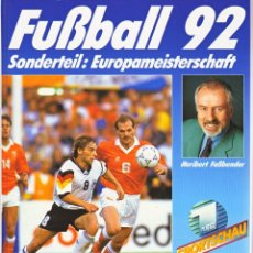 Coleccionismo deportivo: FÚTBOL. FUSSBALL 92 (FALKEN) . Lote 40341421