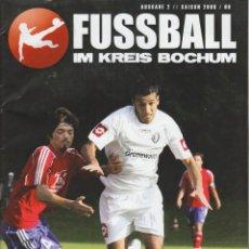 Coleccionismo deportivo: FÚTBOL. FUSSBALL IM KREIS BOCHUM 2008/09 . Lote 40341699
