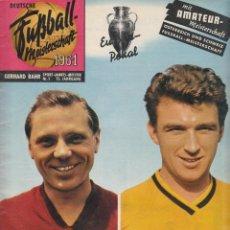 Coleccionismo deportivo: FÚTBOL. FUSSBALL MEISTERSCHAFT 1961 . Lote 40341790