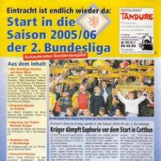Coleccionismo deportivo: FÚTBOL. START IN DIE SAISON 2005/06 2.BUNDESLIGA . Lote 40342096