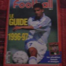 Coleccionismo deportivo: FÚTBOL. FRANCE FOOTBALL GUIDE 1996-97 SAISON . Lote 40342555
