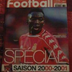 FÚTBOL. FRANCE FOOTBALL GUIDE 2000-2001 SAISON