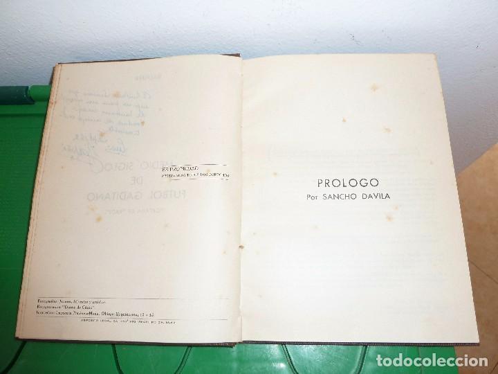 Coleccionismo deportivo: MEDIO SIGLO DE FUTBOL GADITANO FIRMADO Y DEDICADO POR LUIS A. BALBONTIN BALPIÑA - Foto 15 - 182314500