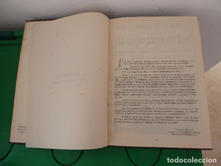 Coleccionismo deportivo: MEDIO SIGLO DE FUTBOL GADITANO FIRMADO Y DEDICADO POR LUIS A. BALBONTIN BALPIÑA - Foto 17 - 182314500