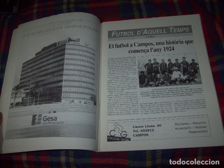 Coleccionismo deportivo: HISTÒRIA DEL FUTBOL A CAMPOS , 1924 - 1994 .ED. DEL MIGJORN. CLUB ESPORTIU CAMPOS. 1994. MALLORCA - Foto 2 - 63500712