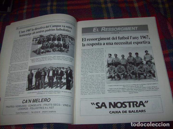 Coleccionismo deportivo: HISTÒRIA DEL FUTBOL A CAMPOS , 1924 - 1994 .ED. DEL MIGJORN. CLUB ESPORTIU CAMPOS. 1994. MALLORCA - Foto 3 - 63500712