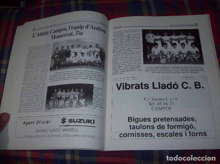 Coleccionismo deportivo: HISTÒRIA DEL FUTBOL A CAMPOS , 1924 - 1994 .ED. DEL MIGJORN. CLUB ESPORTIU CAMPOS. 1994. MALLORCA - Foto 5 - 63500712