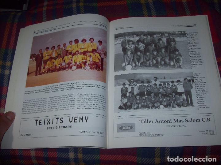 Coleccionismo deportivo: HISTÒRIA DEL FUTBOL A CAMPOS , 1924 - 1994 .ED. DEL MIGJORN. CLUB ESPORTIU CAMPOS. 1994. MALLORCA - Foto 6 - 63500712