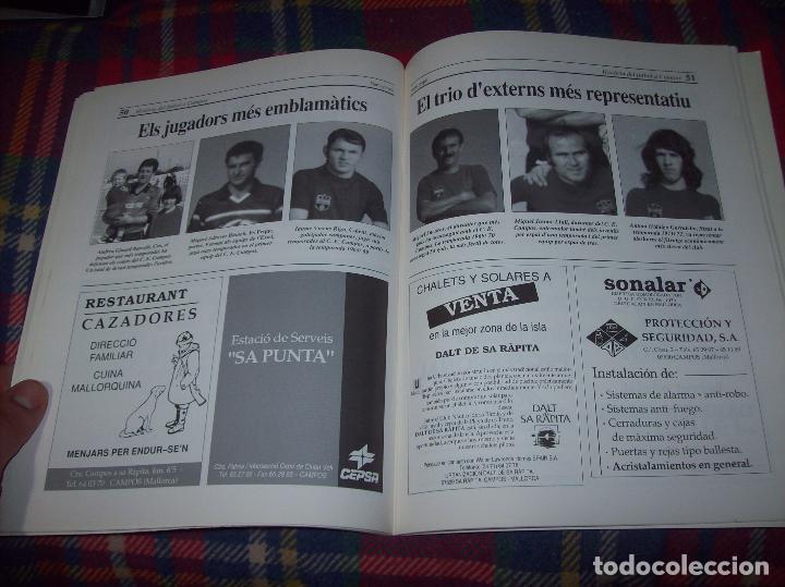 Coleccionismo deportivo: HISTÒRIA DEL FUTBOL A CAMPOS , 1924 - 1994 .ED. DEL MIGJORN. CLUB ESPORTIU CAMPOS. 1994. MALLORCA - Foto 10 - 63500712