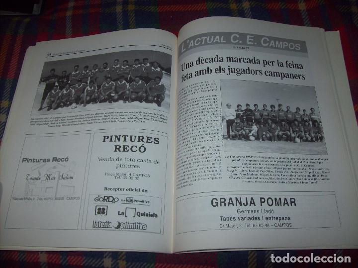 Coleccionismo deportivo: HISTÒRIA DEL FUTBOL A CAMPOS , 1924 - 1994 .ED. DEL MIGJORN. CLUB ESPORTIU CAMPOS. 1994. MALLORCA - Foto 11 - 63500712