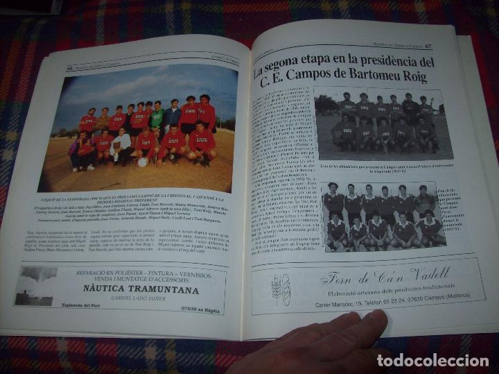 Coleccionismo deportivo: HISTÒRIA DEL FUTBOL A CAMPOS , 1924 - 1994 .ED. DEL MIGJORN. CLUB ESPORTIU CAMPOS. 1994. MALLORCA - Foto 12 - 63500712