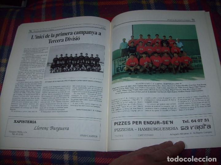 Coleccionismo deportivo: HISTÒRIA DEL FUTBOL A CAMPOS , 1924 - 1994 .ED. DEL MIGJORN. CLUB ESPORTIU CAMPOS. 1994. MALLORCA - Foto 13 - 63500712