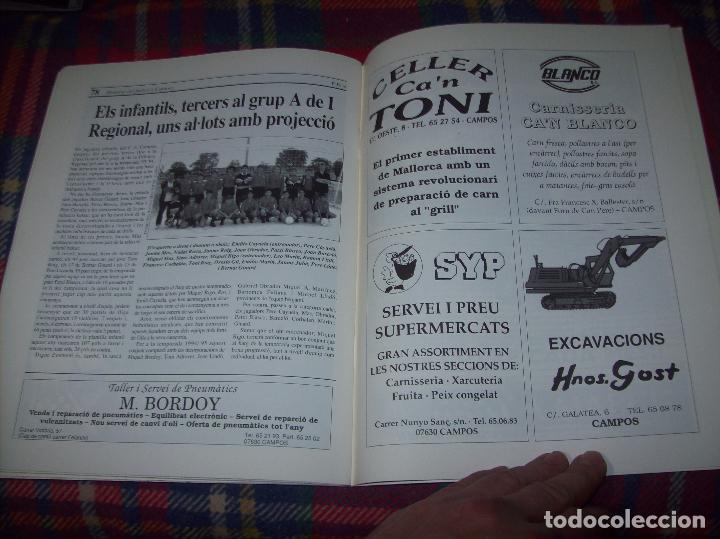 Coleccionismo deportivo: HISTÒRIA DEL FUTBOL A CAMPOS , 1924 - 1994 .ED. DEL MIGJORN. CLUB ESPORTIU CAMPOS. 1994. MALLORCA - Foto 14 - 63500712