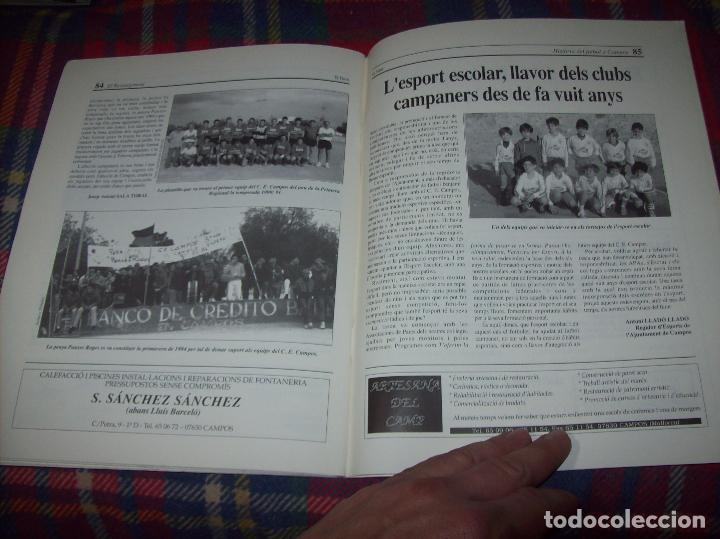 Coleccionismo deportivo: HISTÒRIA DEL FUTBOL A CAMPOS , 1924 - 1994 .ED. DEL MIGJORN. CLUB ESPORTIU CAMPOS. 1994. MALLORCA - Foto 15 - 63500712