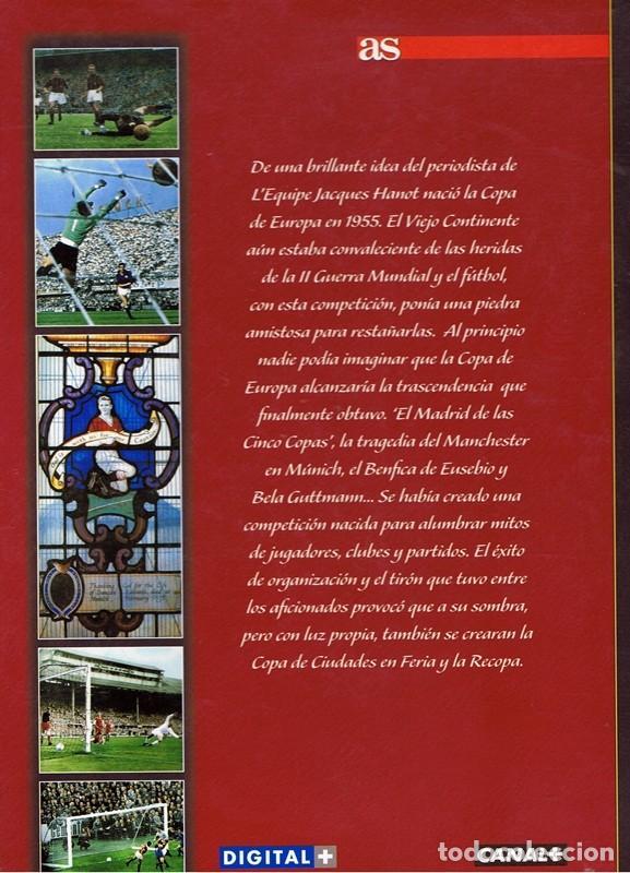 Coleccionismo deportivo: 50 AÑOS DE LA COPA DE EUROPA VOL1 1953 - 1962 - Foto 2 - 63709507