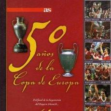 Coleccionismo deportivo: 50 AÑOS DE LA COPA DE EUROPA VOL 4 1975 - 1982. Lote 63709823