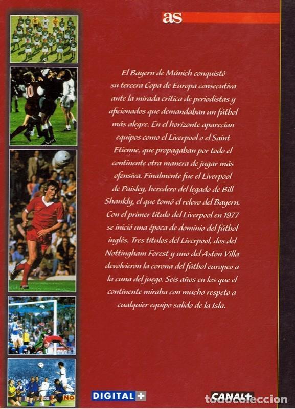 Coleccionismo deportivo: 50 AÑOS DE LA COPA DE EUROPA VOL 4 1975 - 1982 - Foto 2 - 63709823