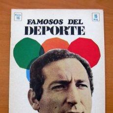 Colecionismo desportivo: REAL MADRID - GENTO - FAMOSOS DEL DEPORTE - BIOGRAFIA - TAMAÑO 19X27 - 32 PÁGINAS. Lote 65058283