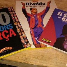 Coleccionismo deportivo: TRES LIBROS DEL BARÇA. Lote 65939078