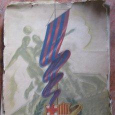 Coleccionismo deportivo: REVISTA CONMEMORATIVA CINCUENTA AÑOS CLUB FUTBOL BARCELONA . BARÇA BODAS DE ORO 1899 - 1949. Lote 67695545