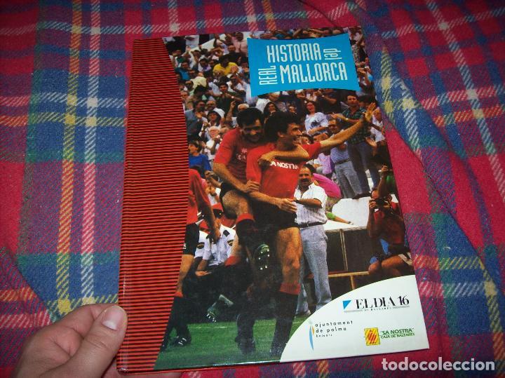 Coleccionismo deportivo: HISTORIA DEL REAL MALLORCA. EL DIA 16. 1991.TODO UNA JOYA!!!!!!!!!!!!!!!!!!!!. VER FOTOS. - Foto 2 - 142156689