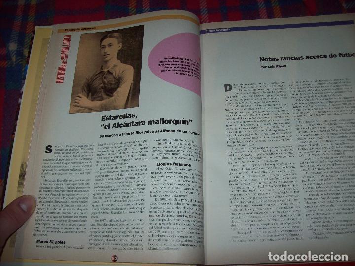 Coleccionismo deportivo: HISTORIA DEL REAL MALLORCA. EL DIA 16. 1991.TODO UNA JOYA!!!!!!!!!!!!!!!!!!!!. VER FOTOS. - Foto 14 - 142156689