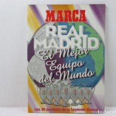 Colecionismo desportivo: LIBIRTO REAL MADRID LOS 20 PARTIDOS DE LA LEYENDA BLANCA. Lote 71822871