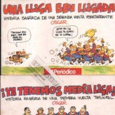 Coleccionismo deportivo: UNA LLIGA BEN LLIGADA Y YA TENEMOS LIGA ELK ~ BARÇA ~ BARCELONA FUTBOL CLUB. Lote 72055715
