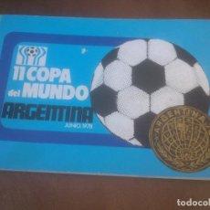 Coleccionismo deportivo: 11 COPA DEL MUNDO ARGENTINA 78 RARO. Lote 72429519