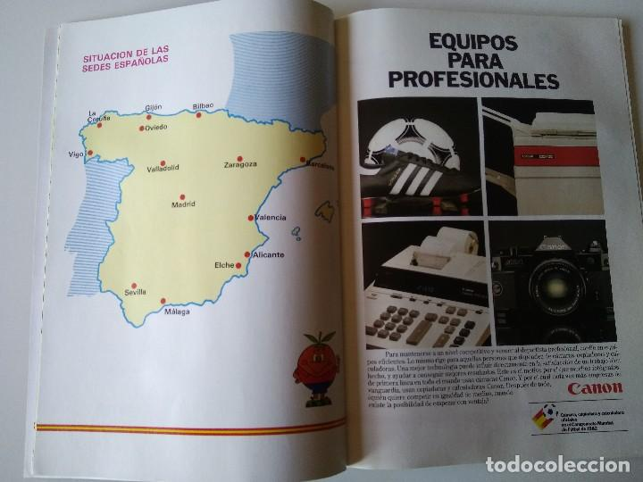 Coleccionismo deportivo: Antiguo Programa Oficial Mundial España 82 1982 Copa del Mundo Fifa - Foto 5 - 72952763