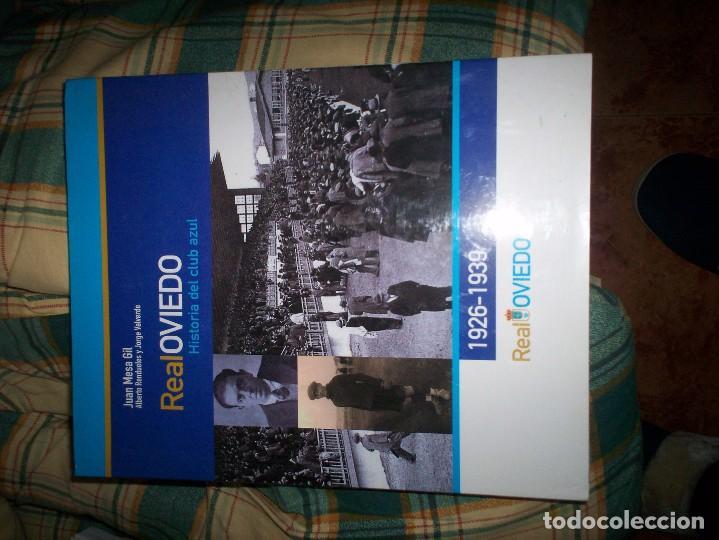 REAL OVIEDO (Coleccionismo Deportivo - Libros de Fútbol)
