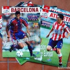 Coleccionismo deportivo: EQUIPOS DE LEYENDA DEL FÚTBOL EUROPEO. 20 FASCÍCULOS. COMPLETO SIN TAPAS. Lote 74467679
