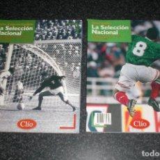 Coleccionismo deportivo: HISTORIA DE LA SELECCIÓN DE MÉXICO (2 TOMOS). Lote 74617575