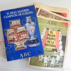 Coleccionismo deportivo: EL REAL MADRID CAMPEÓN DE EUROPA ABC COMPLETO FÚTBOL DEPORTE CAMPEONES COPAS COPA LIBRO HISTORIA 37. Lote 75209815